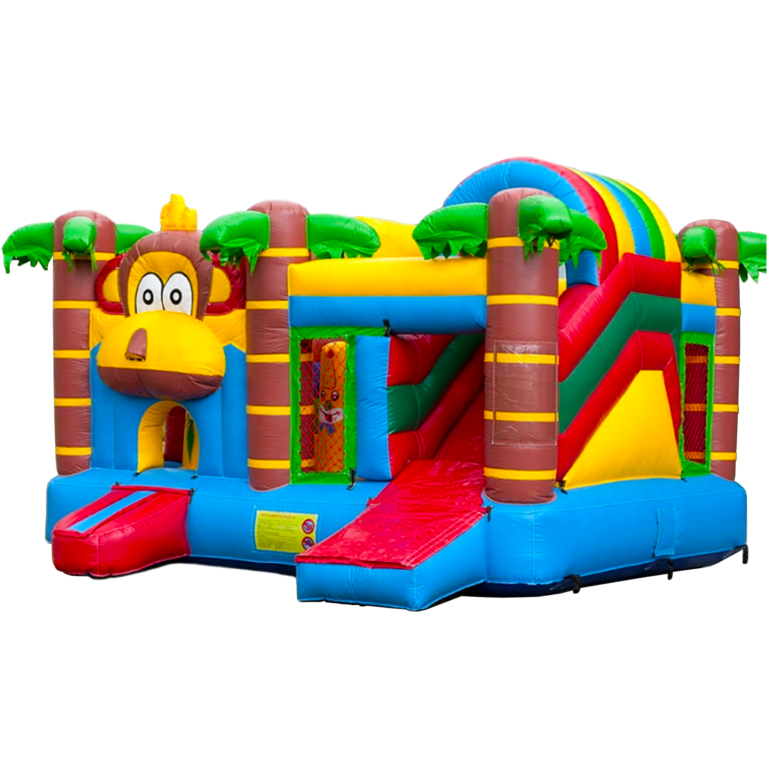 multiplay-aap springkasteel M-RENT